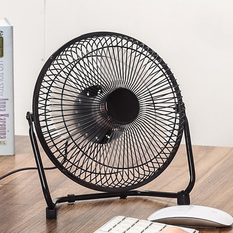 usb小风扇迷你8寸办公室桌面电脑家用婴儿学生宿舍寝室床上静音可充电宝小电风扇便携台式插电小型大风力电扇