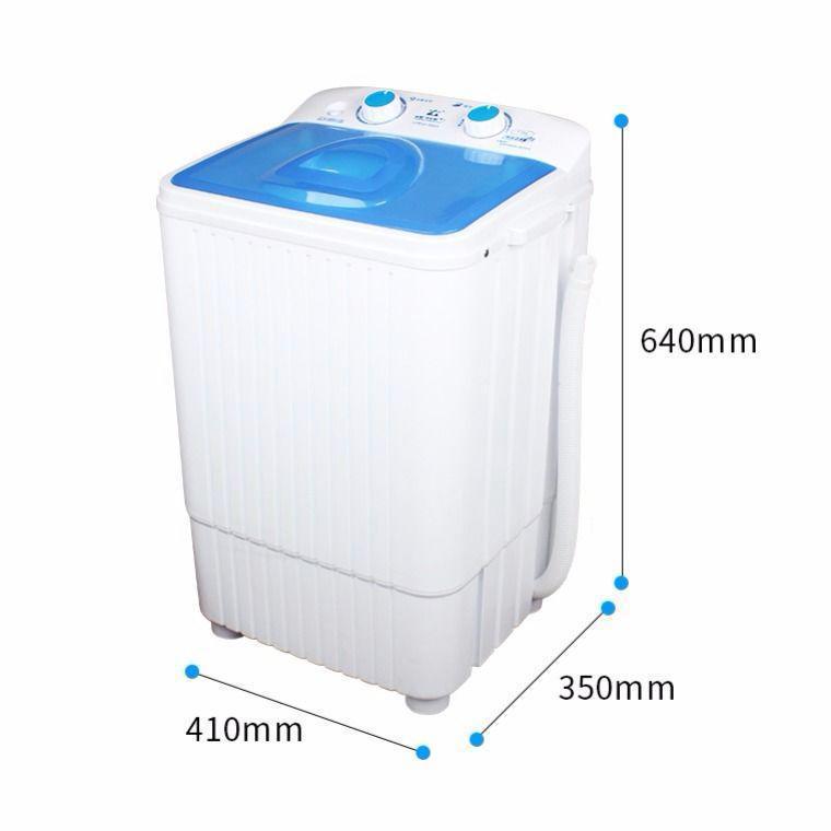 洗袜子家用双桶缸半全自动宝婴儿童小型迷你洗衣机脱水甩干券后158.04元