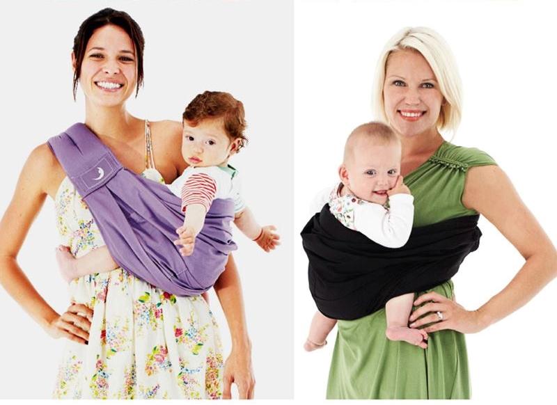 多功能西尔斯新生儿背巾 横抱式婴儿背带宝宝抱袋 四季透气斜背袋