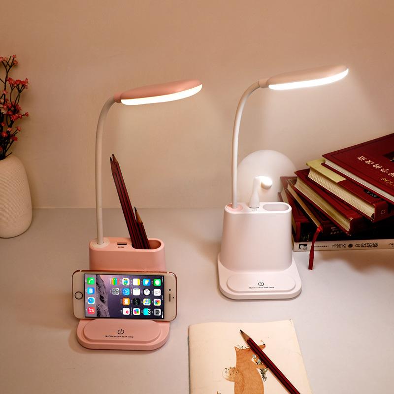 活動は贈り物を送ります多機能の電気スタンドのUSB充電の寝室の本の明かりに触れてLEDアイデア企業を制御してLOGOをカスタマイズします。