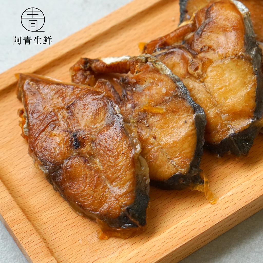 阿青生鲜熏鱼酥鱼爆鱼下酒菜即食菜浙江特产卤味熟食舟山宁波特产