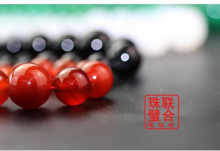 阜新天然玛瑙切面塔链水晶项炼女性韩版项链吊坠毛衣链女士饰品