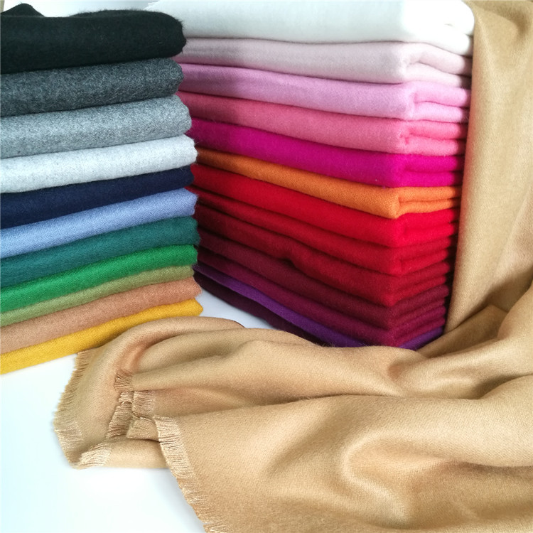 Special price Lanshan pure color scarf female winter temperament versatile shawl dual purpose thickened Korean version long warm student