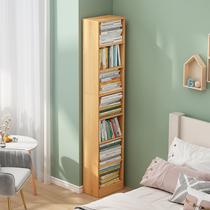 简约书架落地简易经济型角落柜多功能收纳柜储物省空间置物架书柜