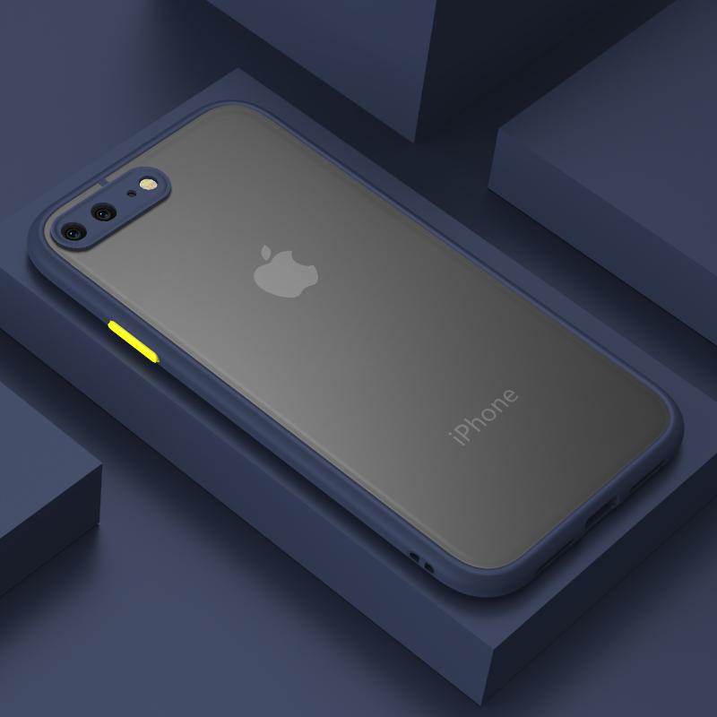 苹果se苹果8plus手机壳iphone7plus保护套6splus全包防摔软硅胶苹果6s抖音同款6plus网红8潮牌7plus男女7磨砂