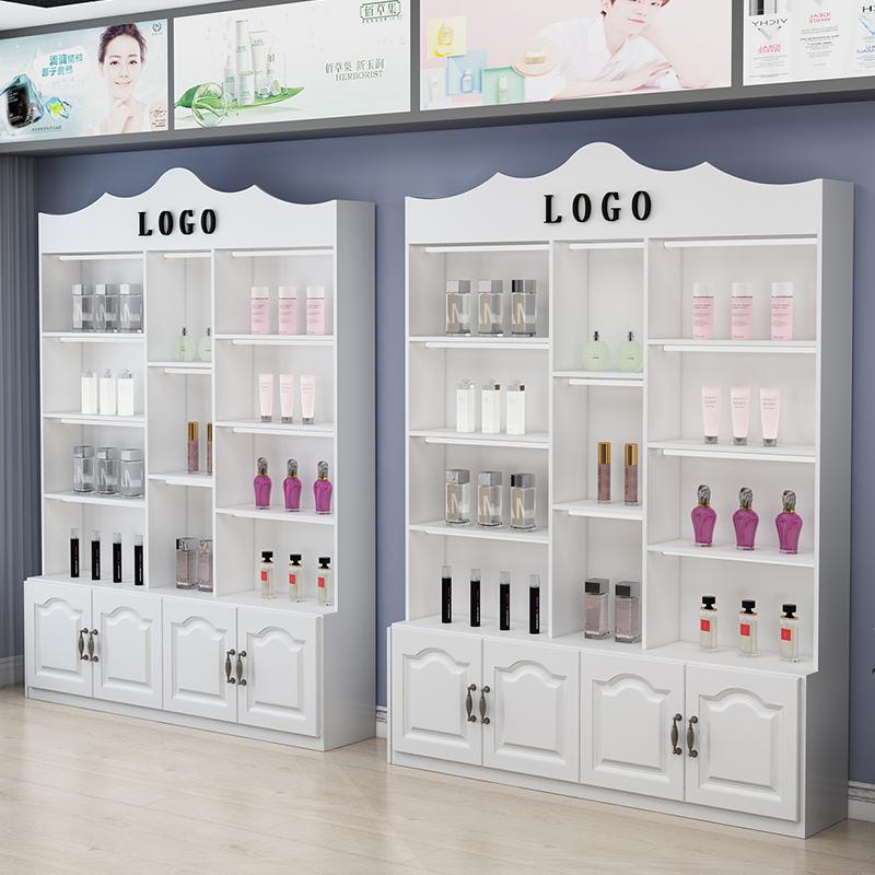 化妆品展示柜隔断货柜货架展示架自由组合药店展柜美容产品展示柜