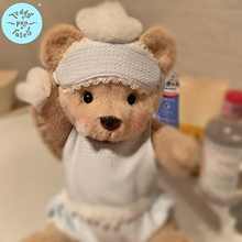 【中号的衣服】Pro莉娜熊手工可爱萌泰迪熊公仔服装娃娃穿着替换
