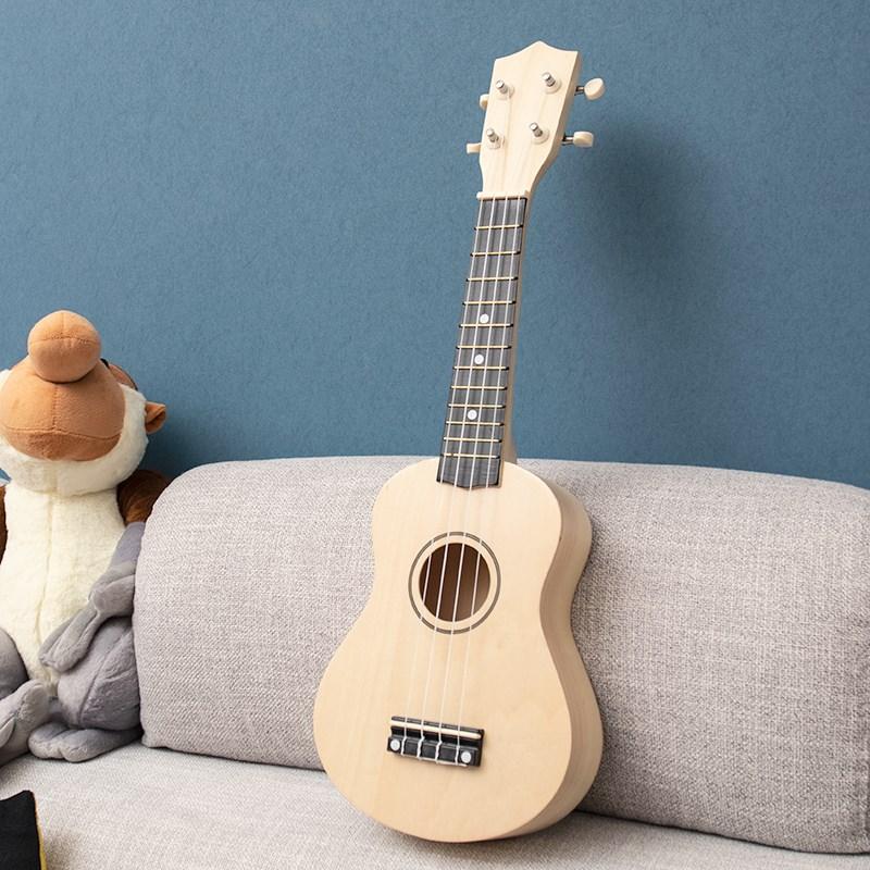 限9000张券高品质实木21寸儿童吉他乌尤克里里玩具音乐木制小吉他初学者学琴