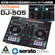 Roland Roland DJ505 Serato Controller disc machine mixer brand new spot Delivery equipment package