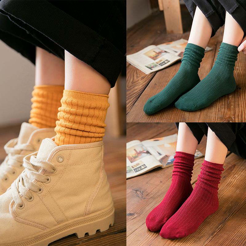 堆堆袜女薄款新品特惠