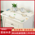 Waterproof disposable bedside table cover cloth pvc TV cabinet tablecloth anti-scalding transparent pad European oil-proof household soft glass