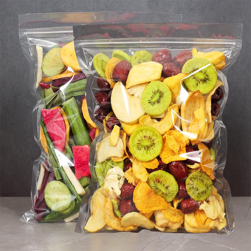 冻干水果干综合果蔬脆片500g脱水蔬菜香蕉菠萝蜜干孕妇零食混合装