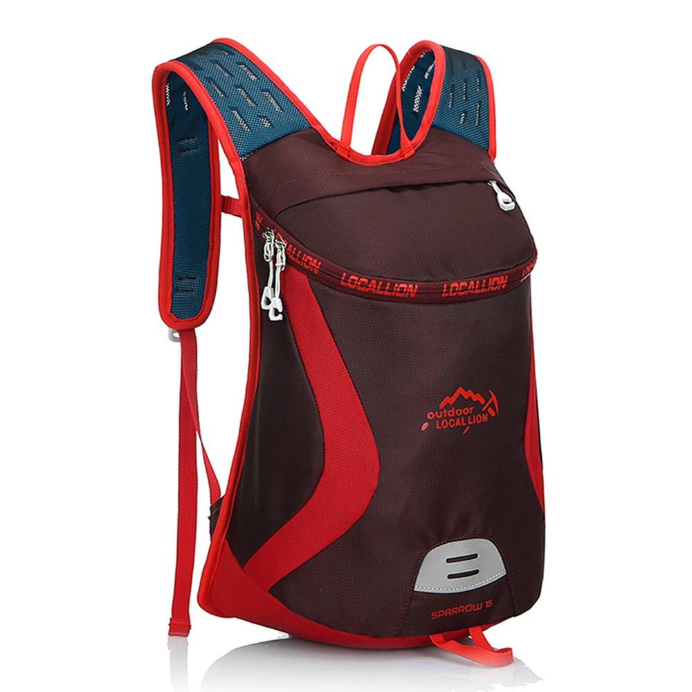 儿童小背包户外骑行运动双肩背包休闲徒步旅行男女背包日背包15L
