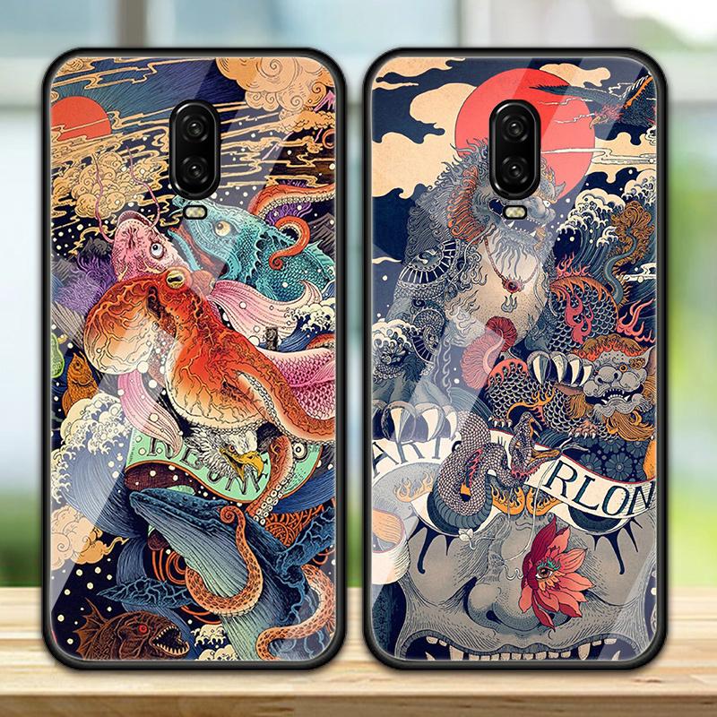 限1000张券一加6t一加7玻璃潮保护1+6手机壳