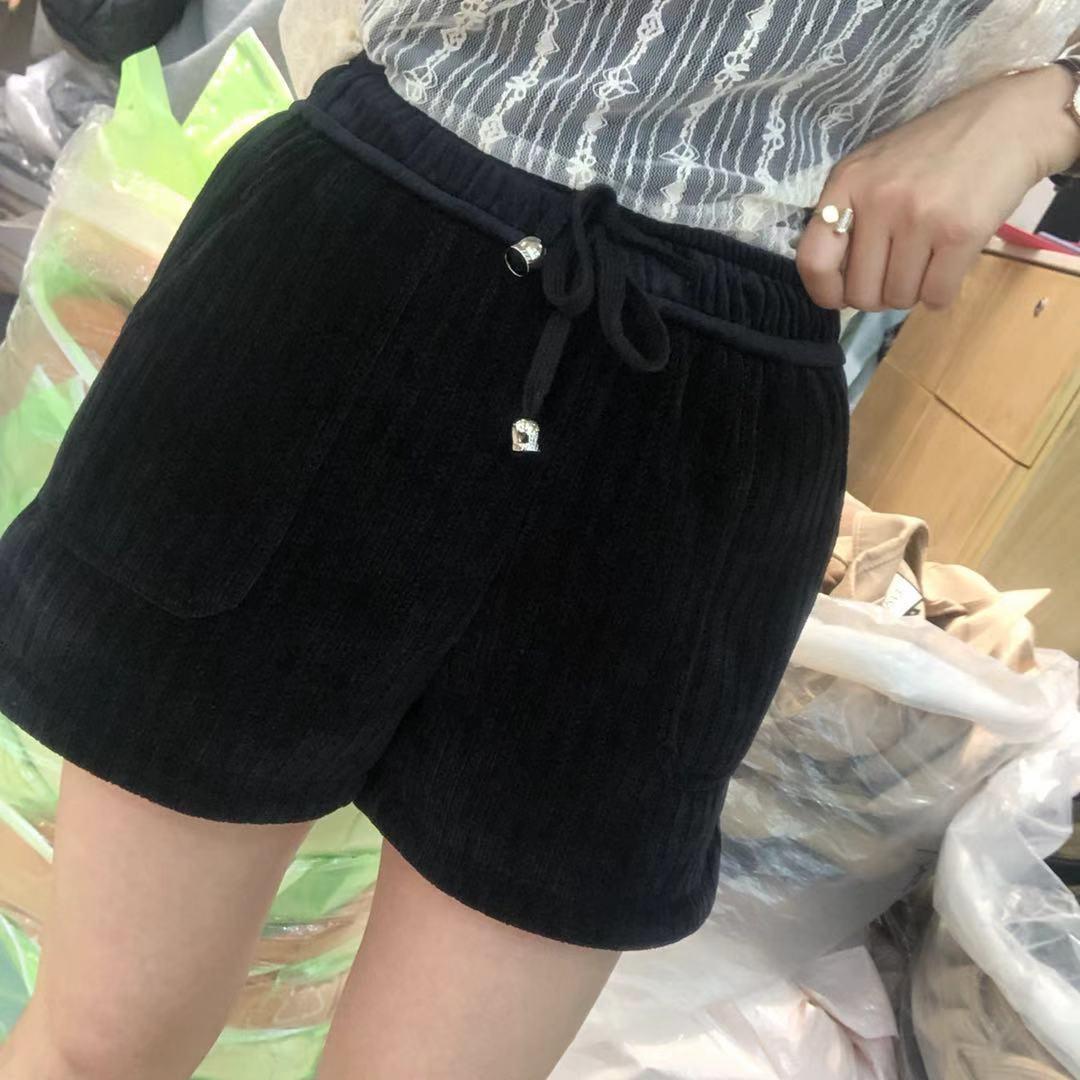 【初冬款大上新】2019初冬款精品夹棉短裤 2F0916-SYC9302