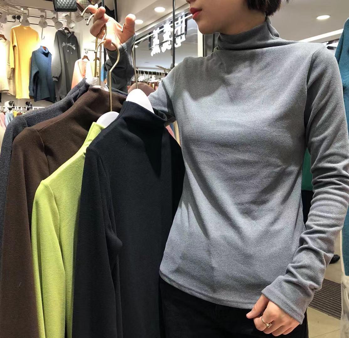 【秋冬款大上新】2019秋冬款精品羊绒打底衫 2F1211-WQL103102