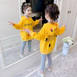 11女童春装套装童装儿童秋装长袖卫衣两件套中大童女孩韩版时髦