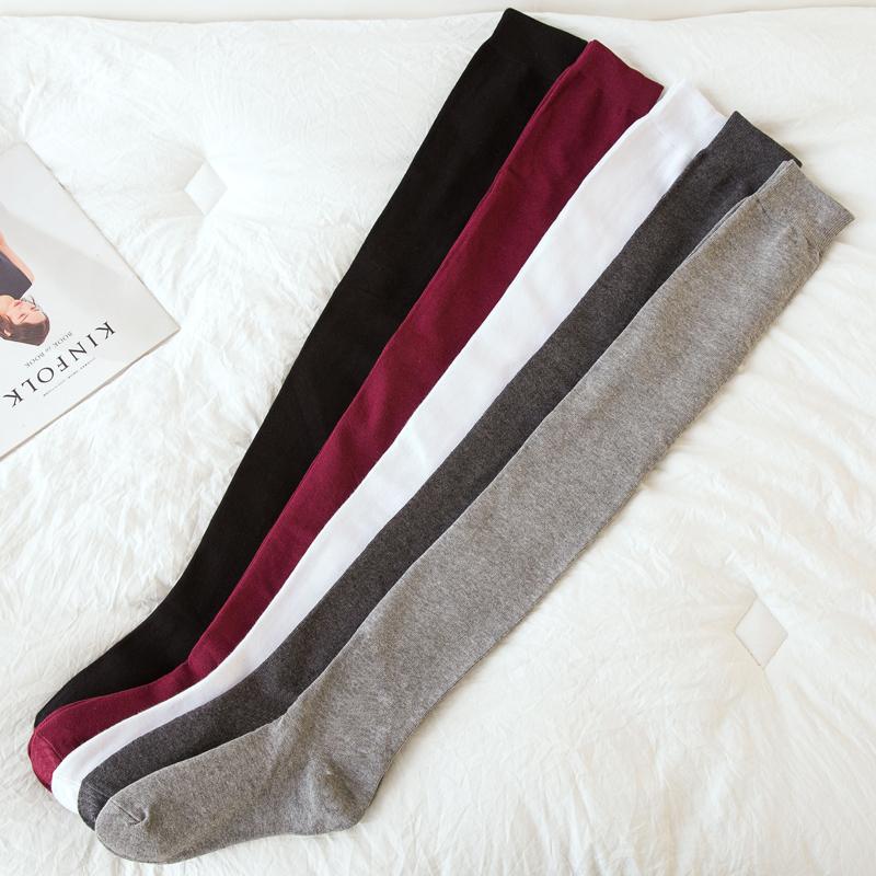 80厘米加长过膝袜硅胶防滑长筒大腿袜子女春秋保暖显瘦空调房袜套