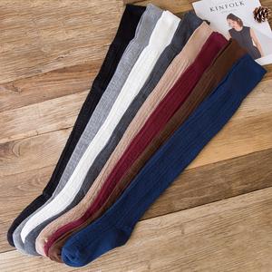 长筒袜女过膝袜秋冬季超长高筒80厘米加长厚护膝袜套学院风大腿袜