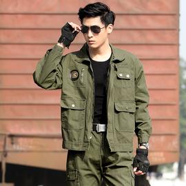 纯棉耐磨户外套装特种兵作训工作服迷彩服套装男中国野战劳保军装图片