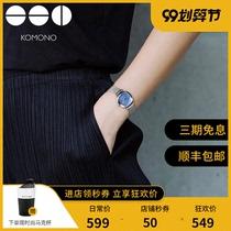 ulzzang原宿白色小巧学生小学儿童细带年新款手表女韩版简约2020