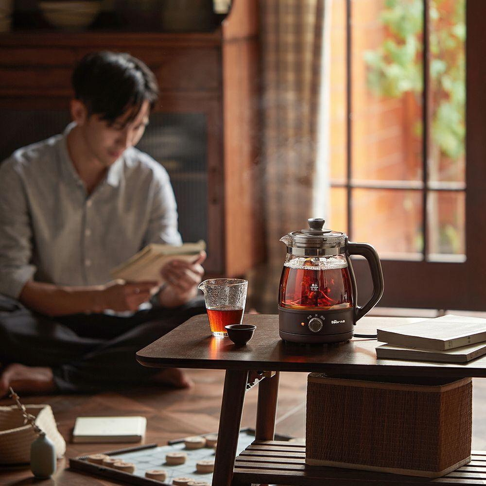 Bear/小熊 ZCQ-A10X1煮茶器黑茶煮茶壶家用全自动蒸汽花茶喷淋式