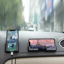 车载手机支架汽车后视镜导航支撑架万能通用型车内用手机固定支架