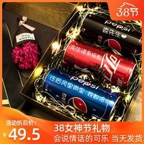百事可乐定制易拉罐diy饮料生日礼物可乐定制可口可乐罐装礼盒装