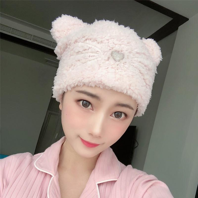 o家冬季韩版羊羔绒帽堆堆帽贝雷帽