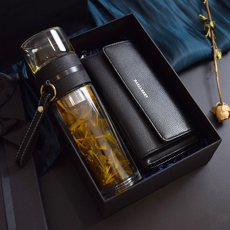中秋节礼物实用送爸爸公公40岁50生日男士创意中年长辈员工水杯60
