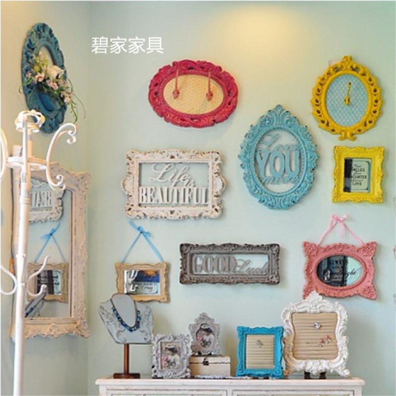 欧式复古做旧维多利亚雕花壁挂壁饰田园地中海挂画家居挂墙装饰