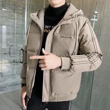 Cotton men's winter coat 2019 new Korean Trend thickened down tooling autumn winter cotton jacket tide brand cotton suit