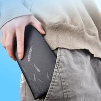 设计创意简约短款相片卡位钱包菩提全植鞣牛皮手工FOSTYLE