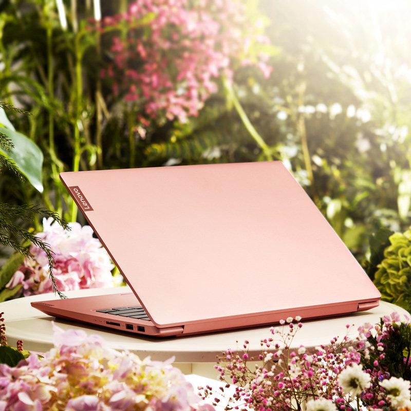 Lenovo/联想 小新14 性能版2019新品 I3-8145u 轻薄手提14英寸 学生商务笔记本电脑 粉色 便携笔记本电脑