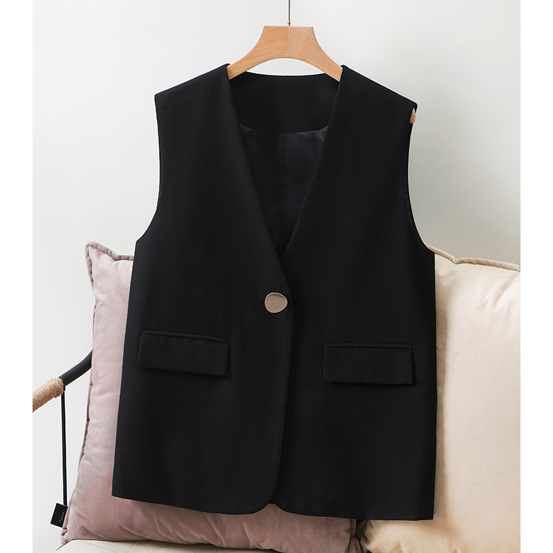 Chaldllen / Charlene suit and vest women 2020 new spring and autumn style with metal buckle fashionable black riding jacket