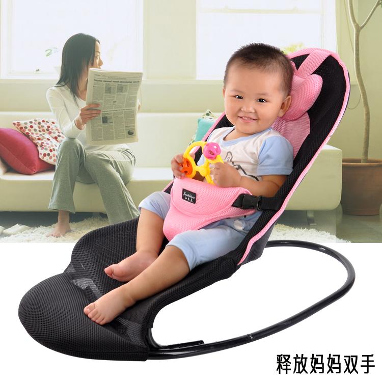 (用1元券)哄娃哄睡哄宝神器宝宝婴儿摇摇椅躺椅安抚椅摇篮椅新生儿童可调节