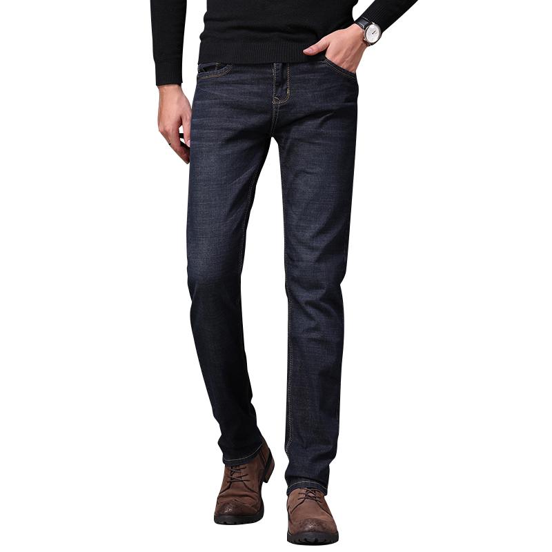 THEV春季新款牛仔裤男士修身小脚裤