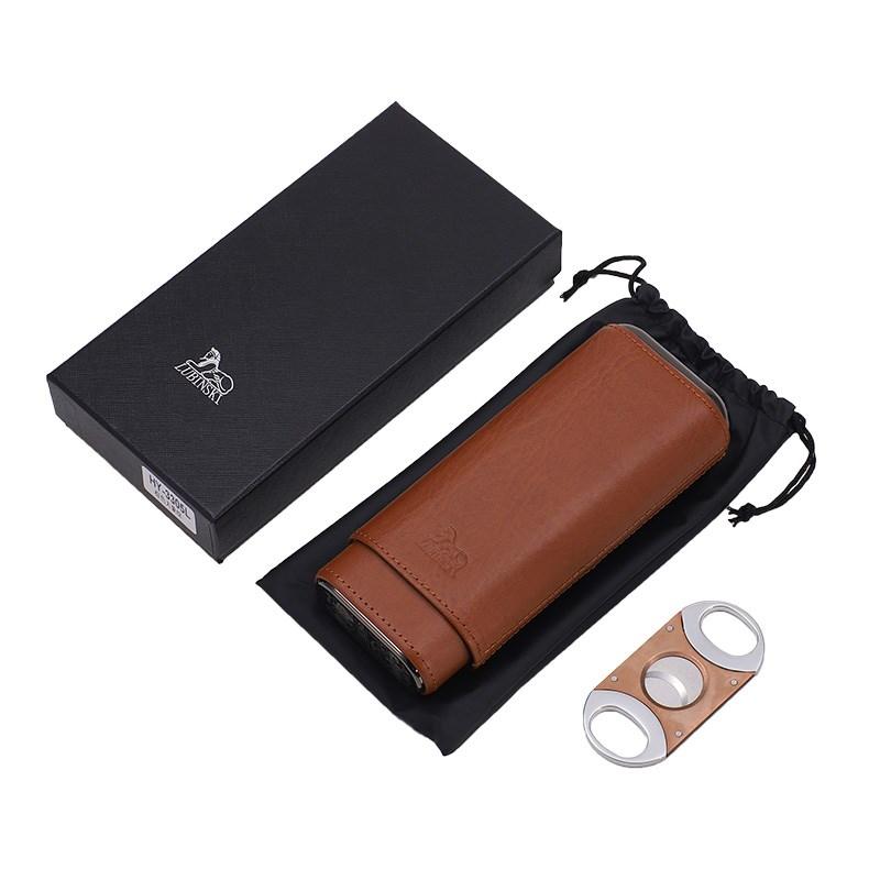 保湿盒保湿剪雪茄套装雪松木保湿便携式盒锋利保湿剪 Изображение 1