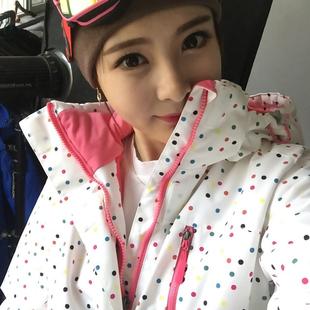 户外滑雪服女 套裝冬季防水防風韓版大碼 單板雙板加厚保暖雪服女