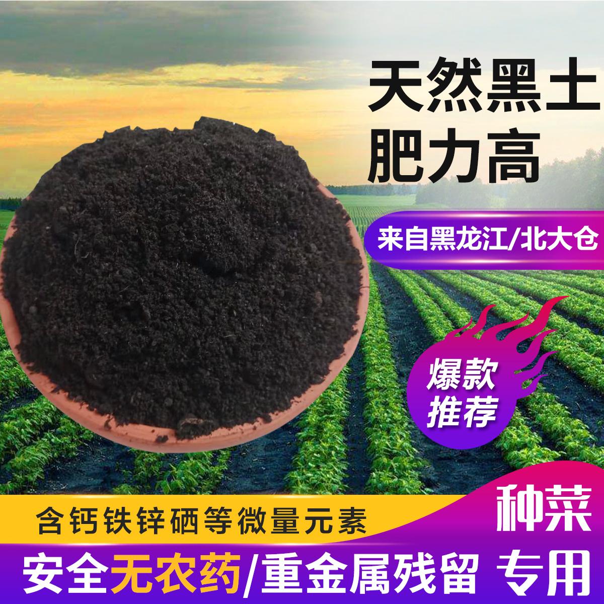 东北天然有机黑土草炭土种植土种花土种菜土营养土多肉土腐殖土壤