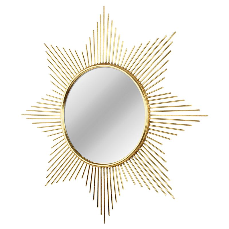 美式铁艺金属圆形太阳镜壁挂装饰镜软装客厅沙发背景墙面玄关镜子
