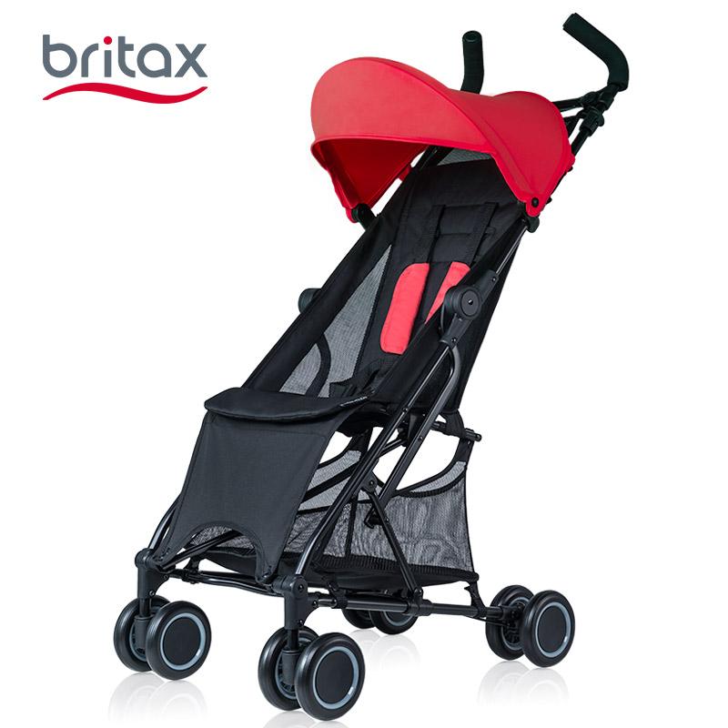 britax婴儿简易轻便折叠上飞机伞车价格多少好不好用
