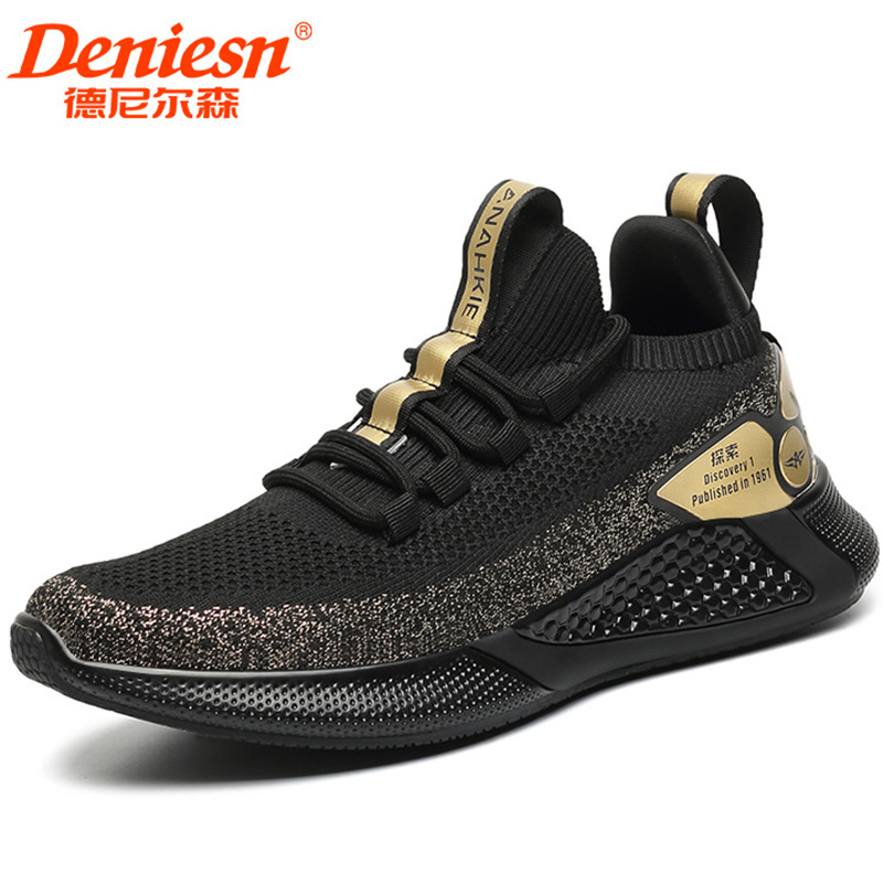 Trendy mens shoes spring ventilation 2020 new fashion mesh shoes mens trendy shoes tourist shoes mens casual sports shoes