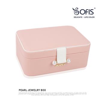 sofis首饰盒首饰耳环饰品风收纳盒