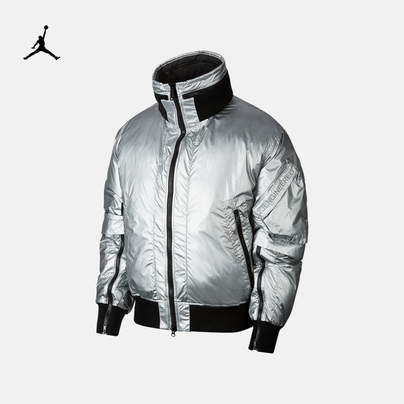 Jordan official Jordan 23 engineered MA-1 men's jacket down jacket coat cq2465