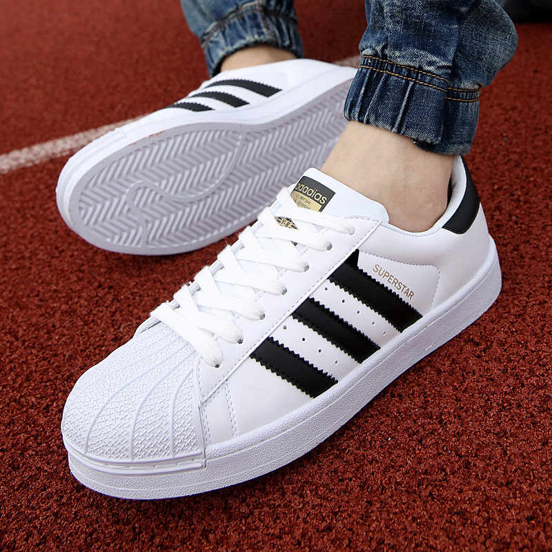 Couple shell headboard shoes Korean fashion mens casual small white shoes breathable versatile low top plush shoes students