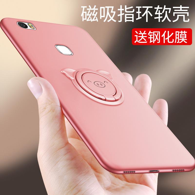 送钢化膜EDI-AL10华为荣耀note8手机壳Honor noot8女款neot8硅胶6.6寸八n8保护套