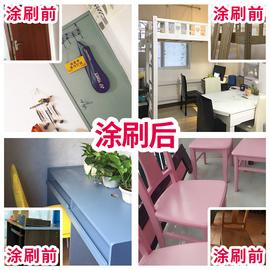 三青漆 水性木器漆木漆家具翻新漆改色油漆家用木门衣柜白色喷漆图片