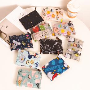 大号日系卡通折叠购物袋便携轻薄环保袋防水大容量超市袋帆布袋