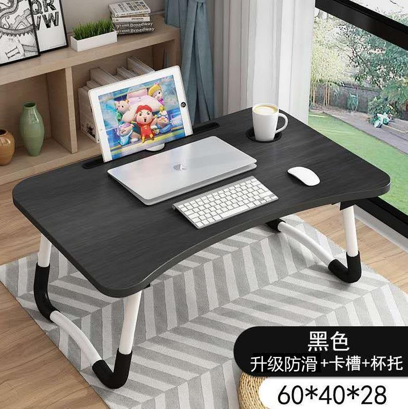 电脑板桌可爱卡通书桌可以放在放床上用的小桌子可折叠宿舍大学生券后10.74元